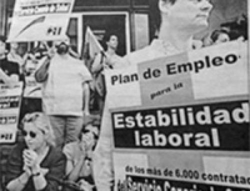 24 de junio de 1998: Médicos interinos protestan por su inestabilidad laboral