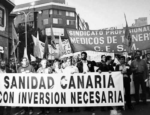 18 de noviembre de de 1993: Jornada de protesta en la sanidad pública para demandar mayor inversión del Estado