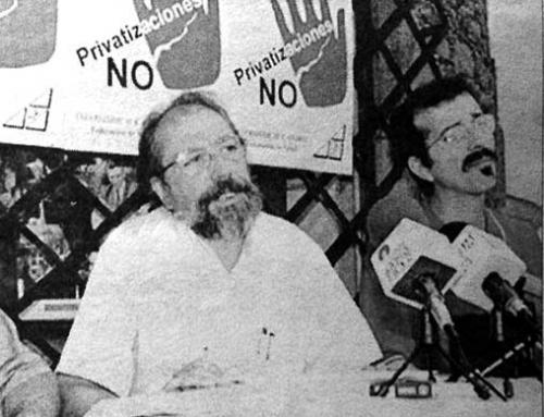 22 de julio de 1997: Campaña contra las privatizaciones en la sanidad pública