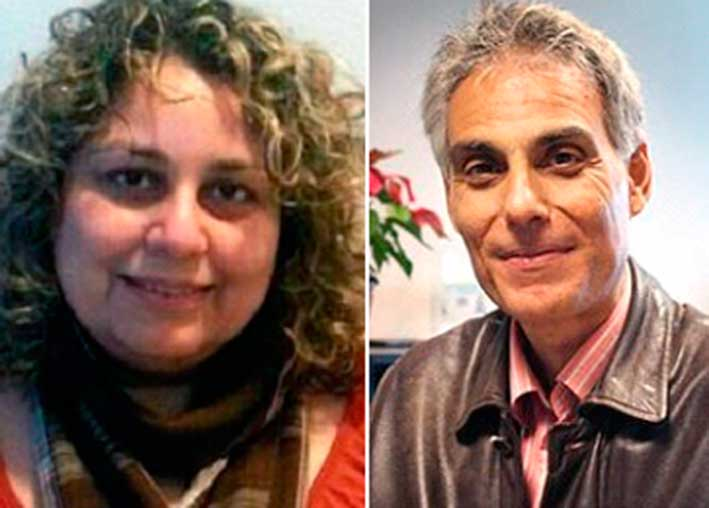 La  directora de Gestión, Sandra Célis y el gerente José L. Rodríguez, desencadenantes del conflicto.