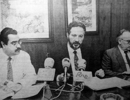 23 de mayo de 1992: Se descubre que un gestor de la sanidad pública, también asesora a hospitales privados