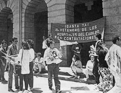4 de junio de 1993: Huelga en los Hospitales del Cabildo Tinerfeño