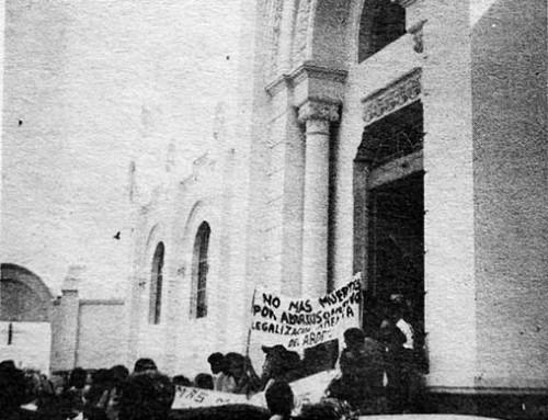 7 de agosto de 1979: Incidentes durante el entierro de una trabajadora sanitaria