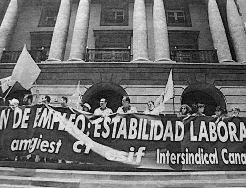 19 de septiembre de1988: Marchas blancas por el empleo estable en Tenerife y Gran Canaria