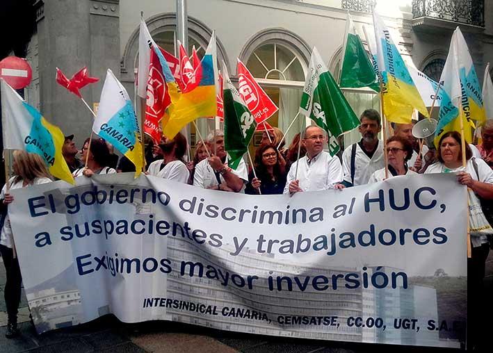 los-representantes-sindicales-denuncian-la-discriminacion-que-sufre-el-huc