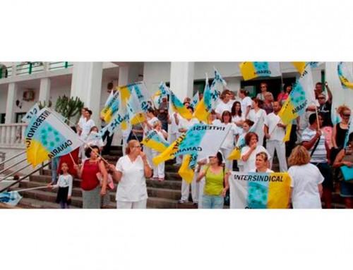LANZAROTE: Los trabajadores del Hospital Insular convocan una huelga indefinida