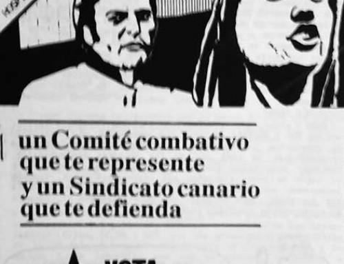 4 de diciembre de 1990: Elecciones sindicales en el Hospital Universitario de Canarias