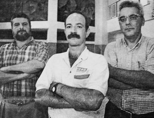 26 de enero de 1989: Pacto entre ATI, CC.OO y UGT  para impedir la actividad sindical al SOC