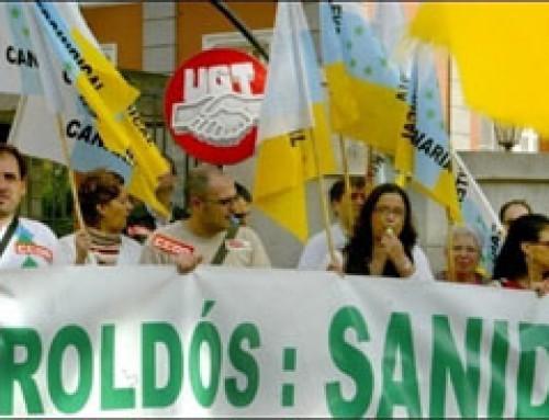 23 de enero de 2008: Paros en el SCS convocados por todos los sindicatos del sector