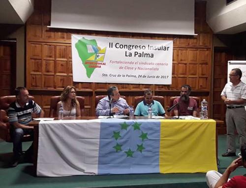 Intersindical celebró en La Palma su II Congreso insular