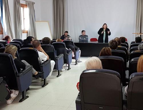 Intersinidcal Canaria organiza asamblea con los trabajadores del hospital insular de Lanzarote