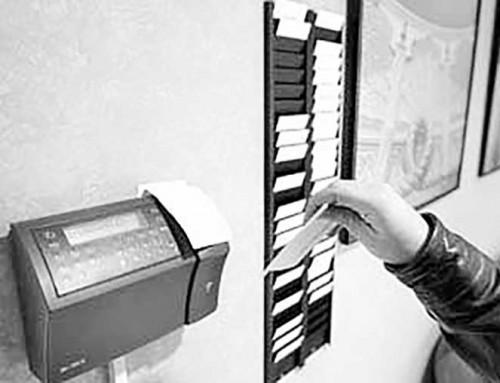 27 de abril de 1987: Acto de sabotaje contra el sistema de control horario durante la huelga