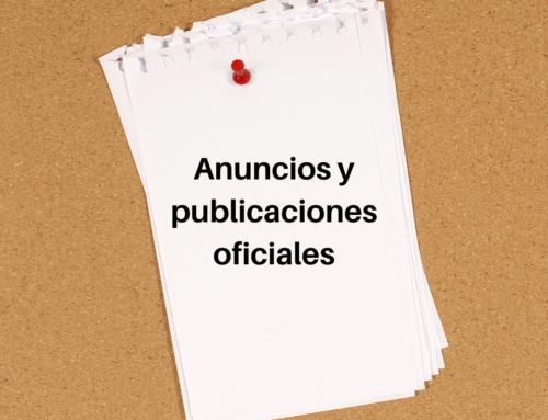 Publicaciones BOC + Tablón de Anuncios, 18 de junio